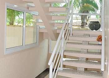 Corrimão de escada de alumínio