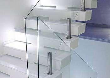 Corrimão em vidro