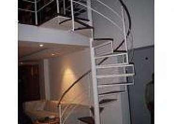 Corrimão de escada ferro fundido