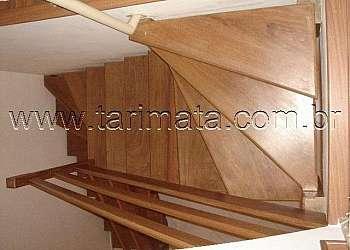 Corrimão de escada de ferro simples